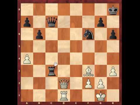 Chess: Queen's Indian game Susan Polgar 2565 - Simen Agdestein 2600 http://sunday.b1u.org