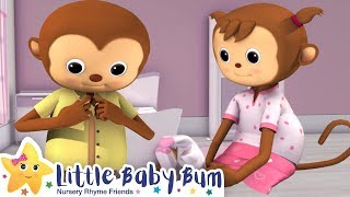 Getting Dressed Song | Brand New Nursery Rhyme & Kids Song - ABCs and 123s  | Little Baby Bum