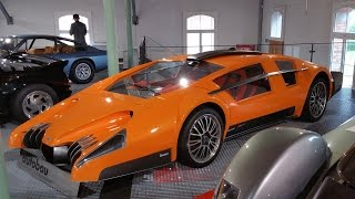 The Bizarre & Mysterious Autobau Car Collection
