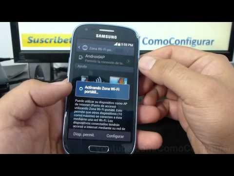 como configurar como modem el samsung galaxy s3 mini i8190 español Full HD