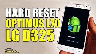 Hard Reset no LG Optimus L70 (D325) #UTICell