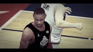 Carr  destroy Curry/Lebron in west  💪💪💪 in My career NBA2k19 Andriod