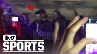 AARON RODGERS -- TUPAC'S 'HIT 'EM UP' IS MY JAM! Raps Along at Final 4 Bash | TMZ Sports