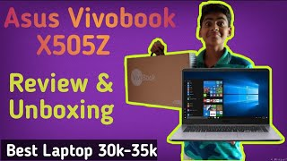 Asus Vivobook (X505Z) Laptop Review and Unboxing - Harsh Tech