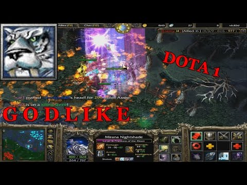 Dota 1 - My Favorite Hero MIRANA GODLIKE !