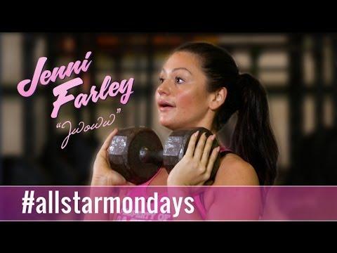 Kettle Bell Butt Blaster - All Star Mondays w/ Jenni JWoww