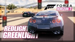 Forza Horizon 3 - Redlight Greenlight! (Mini Games & Random Fun)