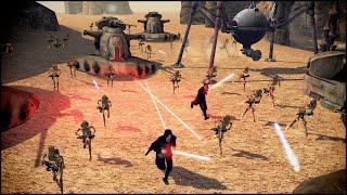SITH WARRIORS IN BATTLE - Star Wars: Galaxy at War Mod Gameplay