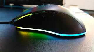 Rosewell NEON M59 Gaming Mouse Overview - Awesome RGB and DPI