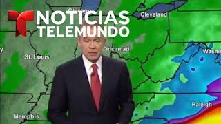 El meteorólogo John Morales explica la trayectoria e intensidad del huracán #Florence | Noticiero