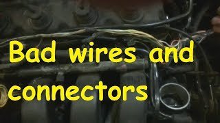 Chrysler Fuel injector/ Bad wires and connectors / Bad starting