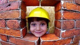 Children's museum Pretend Play BUILDER Kids Indoor Playground Family Fun Baby Songs Nursery Rhyme
