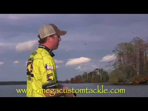 Swim Jig fishing on Lake Guntersville