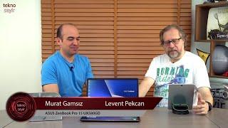 ASUS ZenBook Pro 15 UX580 Teknoseyir İncelemesi
