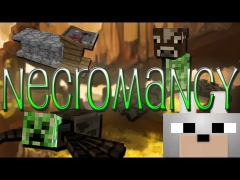 Minecraft Mods - Necromancy 1.4.7 Review and Tutorial - Dr. Frankenstein