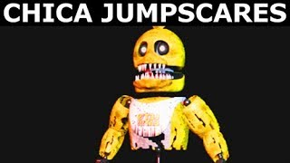 JOLLY 3: Chapter 1 & 2 - Chica Animatronic Jumpscares (FNAF Horror Game 2018)