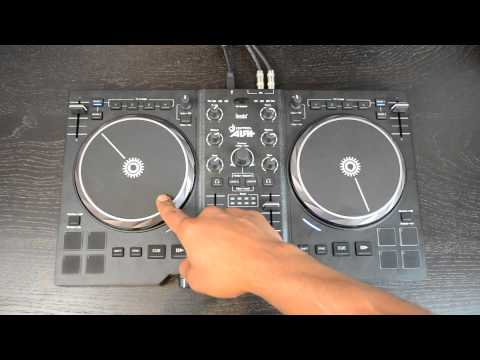 Hercules DJ Console Air+ (Plus) Digital DJ Controller Demo + Review Video