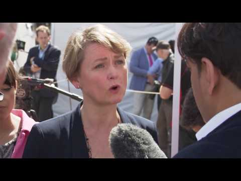 Yvette Cooper on Jeremy Corbyn and David Cameron's Remain Campaigns