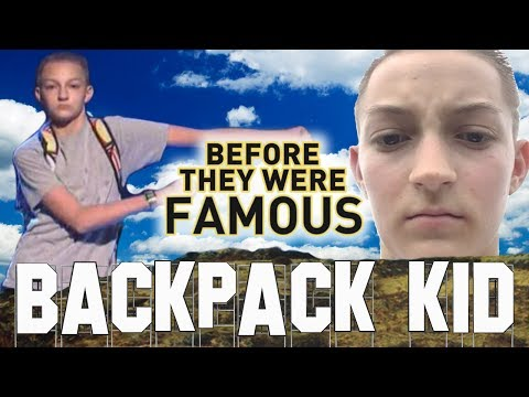 BACKPACK KID - Before They Were Famous - Russell Thorning aka I Got Barzz
