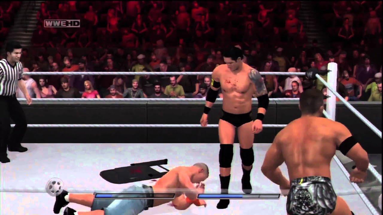 Wwe Nexus Vs John Cena Team WWE Smackdown v...