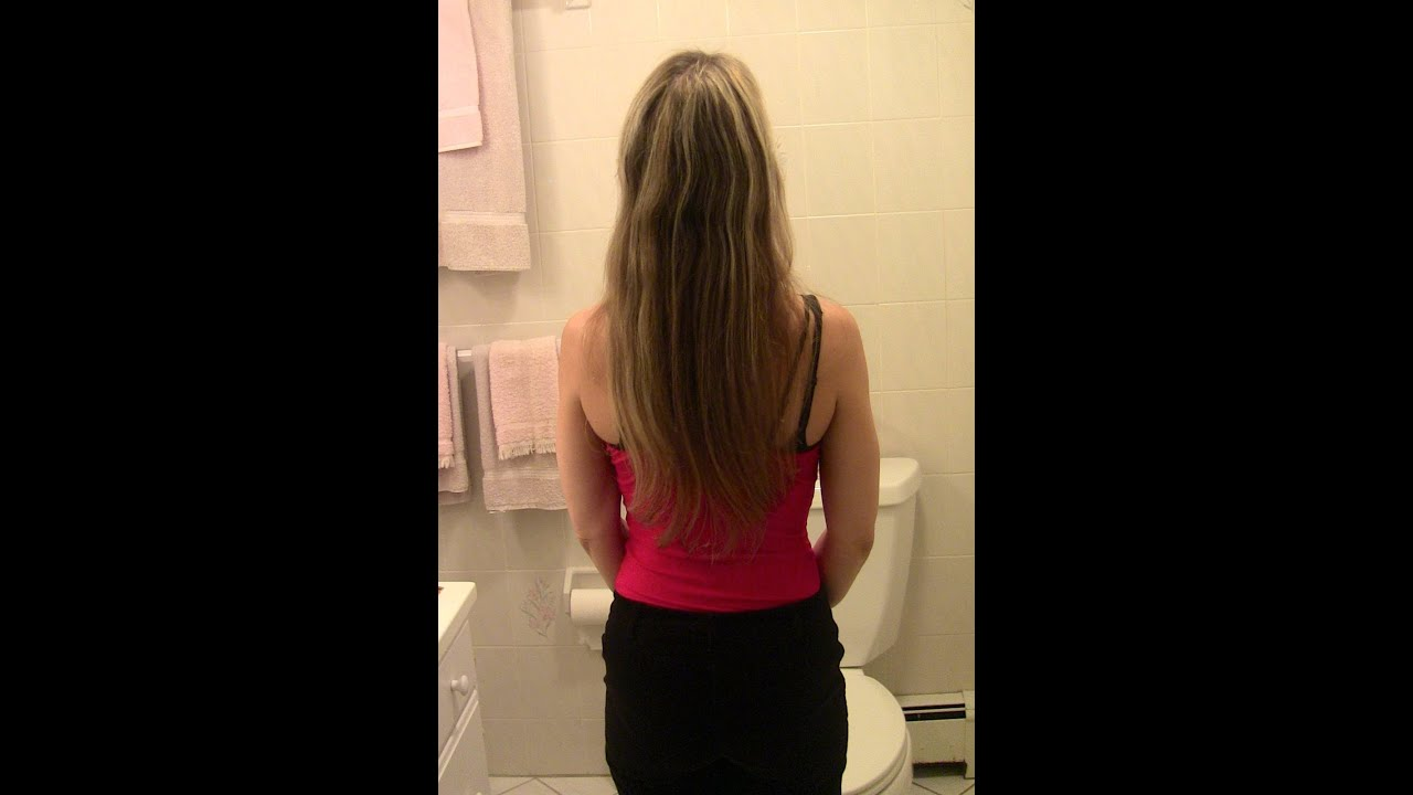 How to STRAIGHTEN YOUR HAIR - NO HEAT