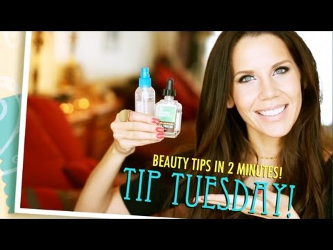 DIY ACNE FIGHTING SPRAY | Tip Tuesday #7