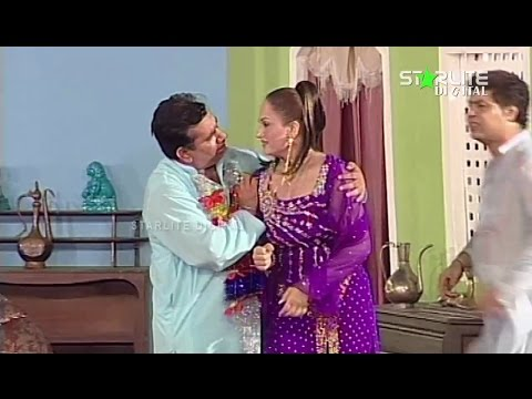 Jori Kamal Ki Nargis and Nasir Chinyoti New Pakistani Stage Drama Full Comedy Funny Play