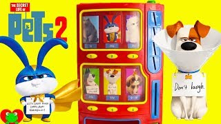 Secret Life of Pets 2 Vending Machine Surprises