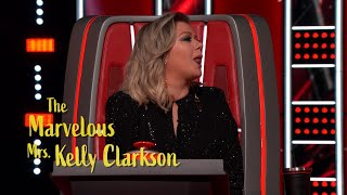 Kelly Clarkson Brings The Laughs In 39 The Voice 39 Montage Exclusive