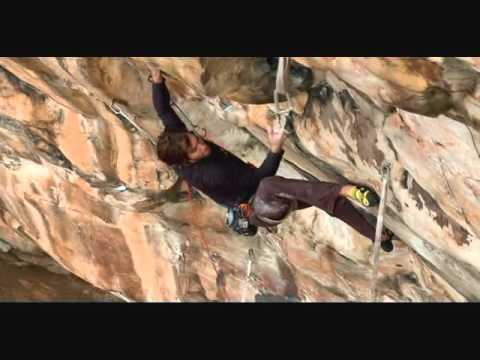 Chris Sharma Onsighting Proper Soul (5.14a) New River Gorge