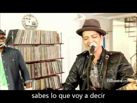 Just The Way You Are (acustico) - Bruno Mars (subtitulada Al Español) video
