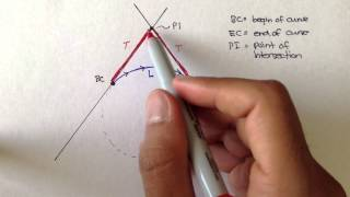 Advanced Geomatics: Horizontal Curves: Part 2