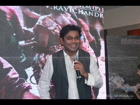 Maryan Audio Success Meet : A. R. Rahman Perform Nenjae Yezhu Song on Stage