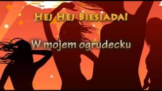 Weselne Hity - W mojem ogrodecku - Muzyka Biesiadna - całe utwory + tekst piosenki