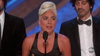 """Lady Gaga's Oscars 2019 Acceptance Speech for """"Shallow"""""""
