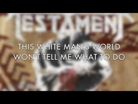 TESTAMENT - Native Blood (OFFICIAL LYRICS)