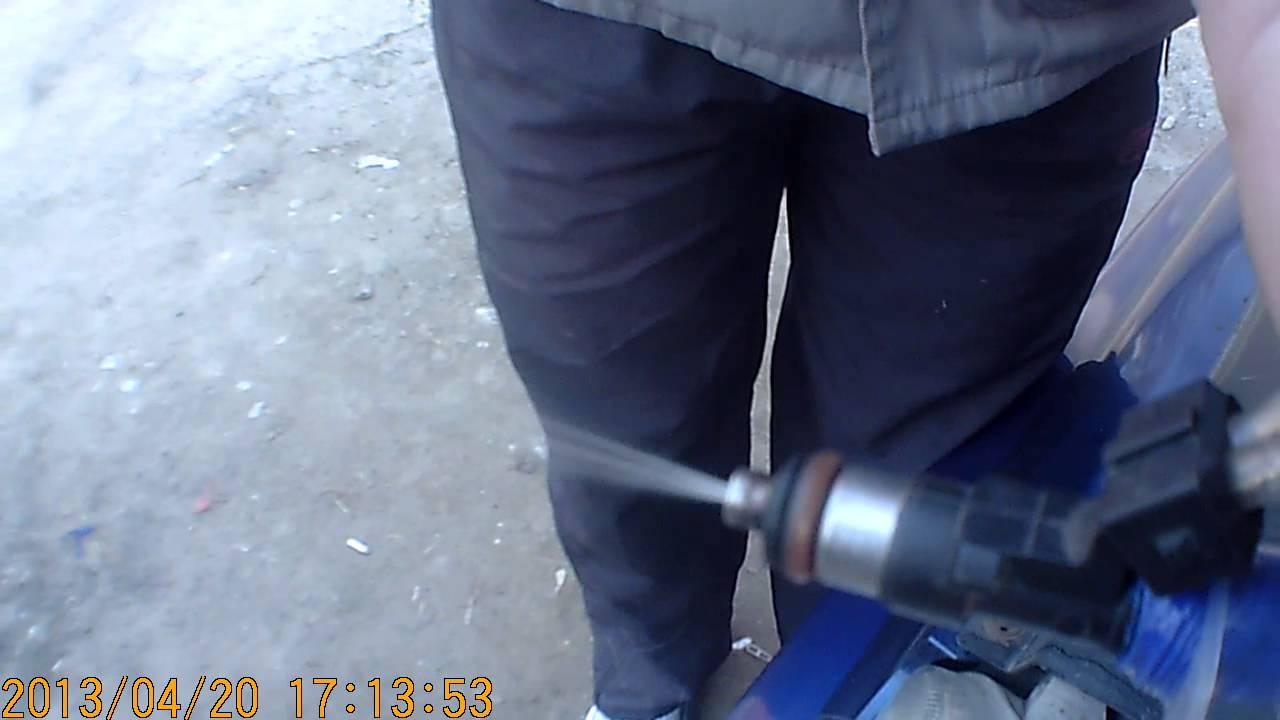 Работа заслонки инжектора ваз 2114