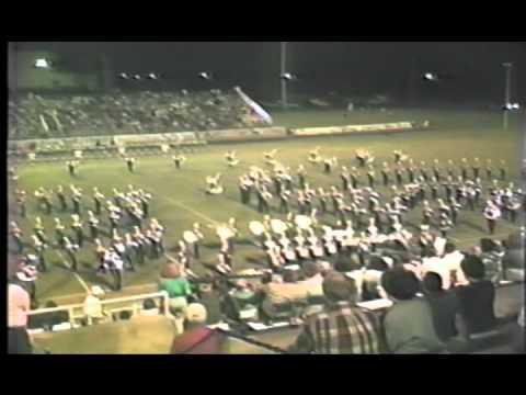 1991 Berkner Ram Band Halftime Show
