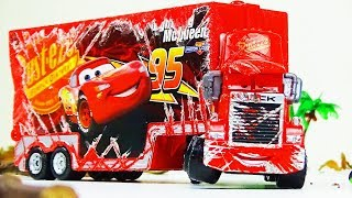 Mack Truck Crash & Repair!  Disney Cars Toys Video for Kids