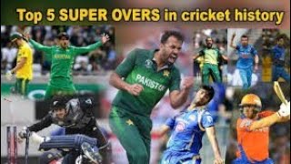 Best super overs in cricket history MAIDEN SUPER OVER INCLUDED