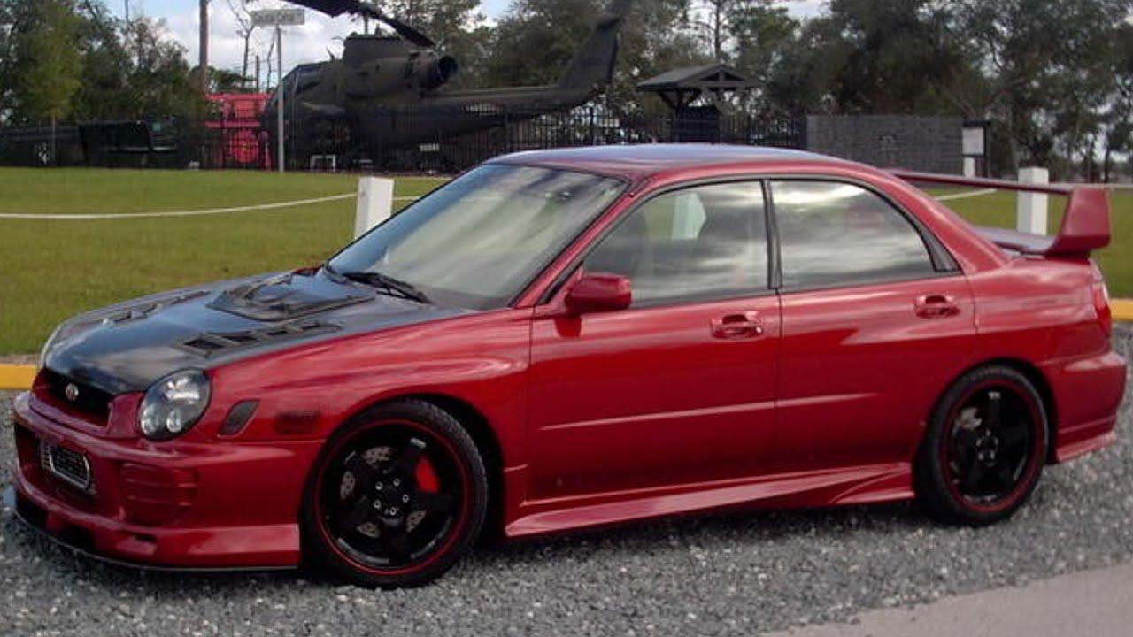 2002 Subaru Wrx Sedan Greddy Ti C Turbo Back Exhaust