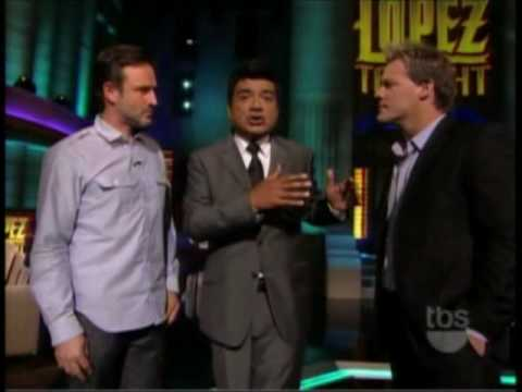 Chris Jericho on Lopez Tonight 1 OF 2 Video