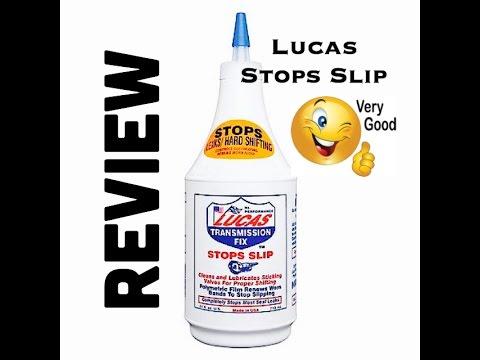 Lucas Stops Slip Review - Transmission Fix - Honda V6 J Series Slipping - Bundys Garage