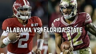 Alabama vs. Florida State - Saturday, September 2 Mercedes-Benz Stadium