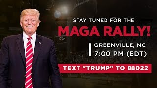 LIVE: President Trump in Greenville, NC