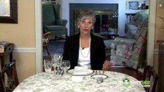 Basic Dining Etiquette - The Place Setting