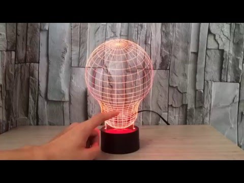 3D ILLUSION LED LAMP -  Ultimatelamps.com.au