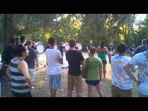 2011 Crossmen Drumline Warm-Up 1 (AccentTap)
