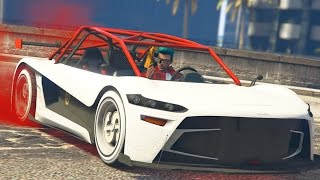 SUPER CHARGED IN MY SUPER CAR! - GTA 5 Online
