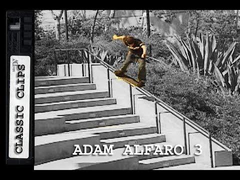Adam Alfaro Skateboarding Classic Clips 3 #124